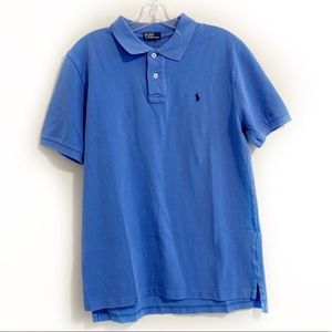 Polo by Ralph Lauren Logo Blue Polo Shirt